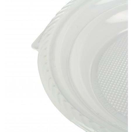 Plato de Plastico Llano Blanco 205mm (1.400 Uds)