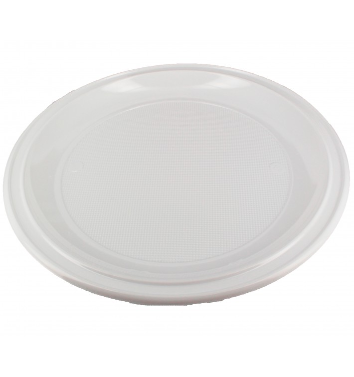 Plato de Plastico PS para Pizza Blanco Ø280 mm (400 Uds)