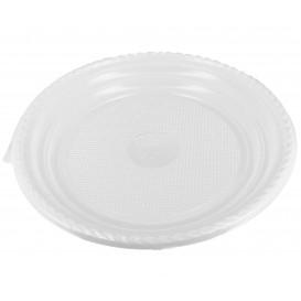 Plato de Plastico Llano Blanco 205 mm (1.400 Uds)
