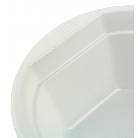 Bol de Plastico Blanco 250 ml (1.000 Uds)