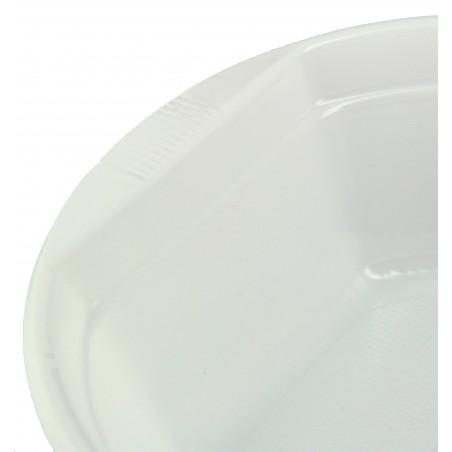 Bol de Plastico Blanco 500 ml (100 Uds)
