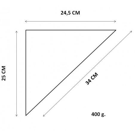 Cono de Papel para Fritos 24,5x25x34 cm (200 Uds)