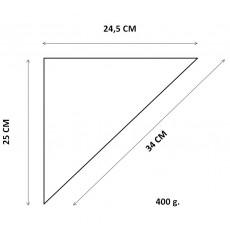 Cono de Papel para Fritos 24,5x25x34,5 cm (200 uds)