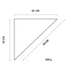 Cono de Papel para Fritos 28x30x39 cm (1000 uds)