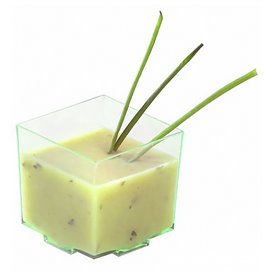 "Vaso Degustacion ""Water Green"" 4,2x4,2x4,2cm (200 Uds)"