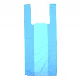 Bolsa Plastico Camiseta 35x50cm Azul (200 Unidades)
