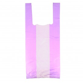 Bolsa Plastico Camiseta 35x50cm Lila (5000 Unidades)