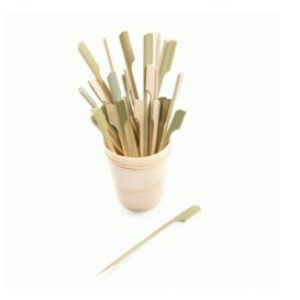 Pinchos de Bambu Decorados Remo 210 mm (100 Uds)