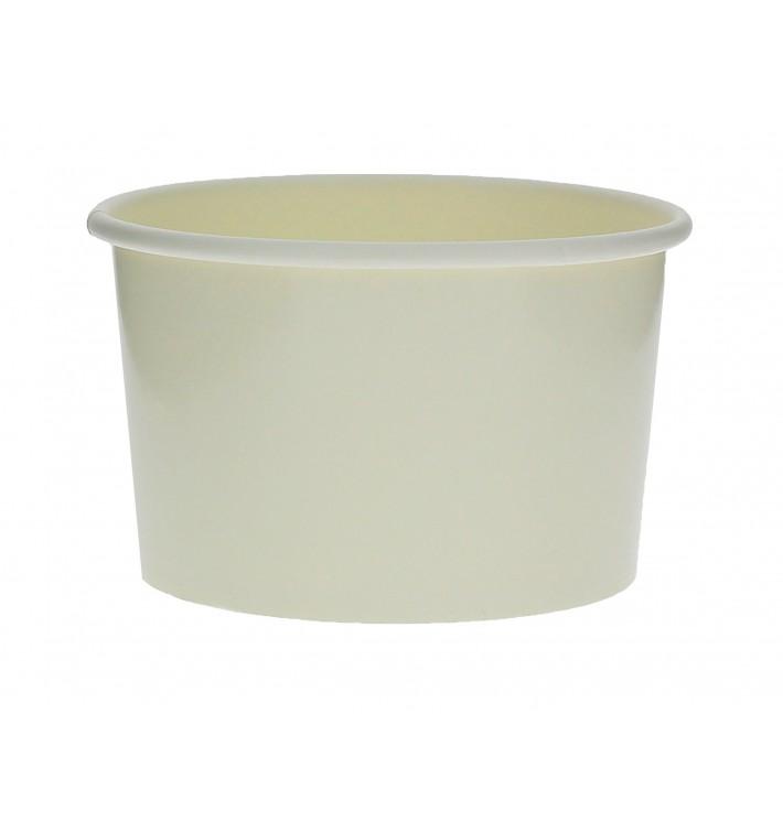 Tarrina de Cartón para Helados 6oz/180ml Blanca (1000 Uds)