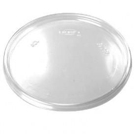 Tapa Plana de Plastico Transparente Ø11cm (1000 Uds)