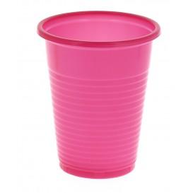 Vaso de Plastico PS Fucsia 200 ml (24 Unidades)