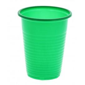 Vaso de Plastico PS Verde 200ml (24 Unidades)