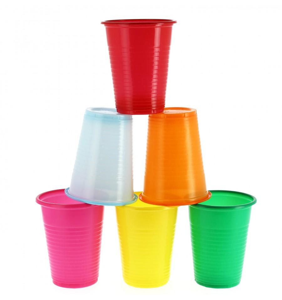 Vaso de plastico ps verde 200ml 24 unidades - Vasos de colores ...