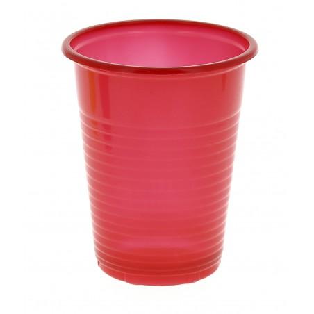 Vaso de Plastico PS Rojo 200 ml (960 Unidades)