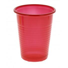 Vaso de Plastico PS Rojo 200 ml (24 Unidades)
