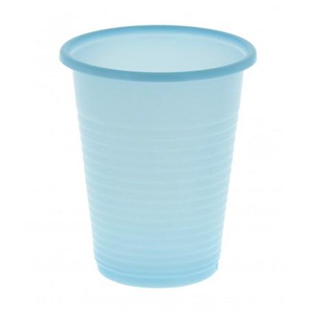 Vaso de Plastico ps Azul 200 ml (Bolsa 24 Uds)