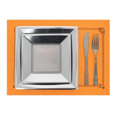 Mantelito de papel 300x400mm 40g Naranja (1.000 Uds)