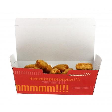 Caja Comida para Llevar 16,5x7,5x6cm (50 Uds)