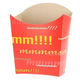Caja para Fritas Grande  8,2x3,3x14,9cm (400 Uds)