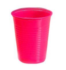 Vaso de Plastico PS Fucsia 200 ml (Bolsa 24 Uds)