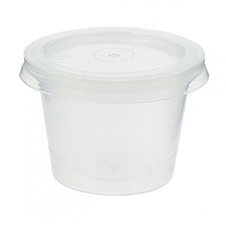 Tarrina Plastico Salsas con Tapa 33ml (3000 Uds)