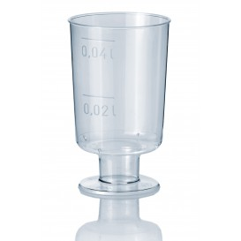 Copa de Plastico de Licor con Pie 40ml (1.400 Uds)