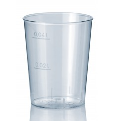 Vaso Inyectado Transparente PS 40 ml (50 Uds)
