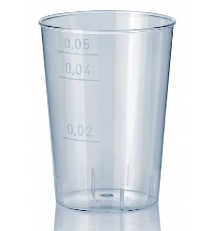 Vaso Inyectado Transparente PS 50 ml (1600 Uds)