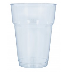 Vaso de Cerveza PP Transparente 200 ml (40 Unidades)
