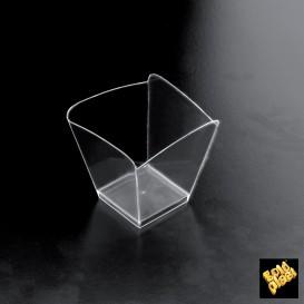 Vaso de Degustacion Onda Transp. 100 ml (500 Uds)