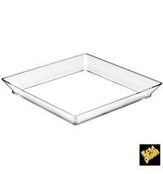 Plato Degustacion Medium Plate Transparente 95 ml (12 Unidades)