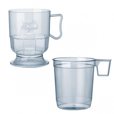 Taza de Plastico Rígida Transparente 200 ml (300 Uds)