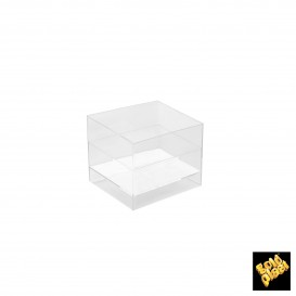 Bol Degustacion Cube Transparente 60 ml (15 Uds)