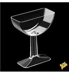 Copa de Plastico Degustación Tile Transparente 62ml (12 Uds)