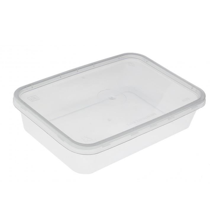 Tarrina Plastico Rectangular PP 500 ml (500 Uds)
