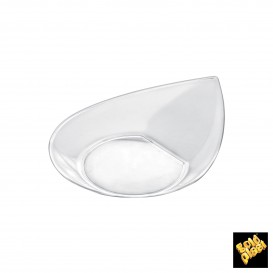Plato Degustacion Smart Transparente 8,6x7,1 cm (500 Uds)