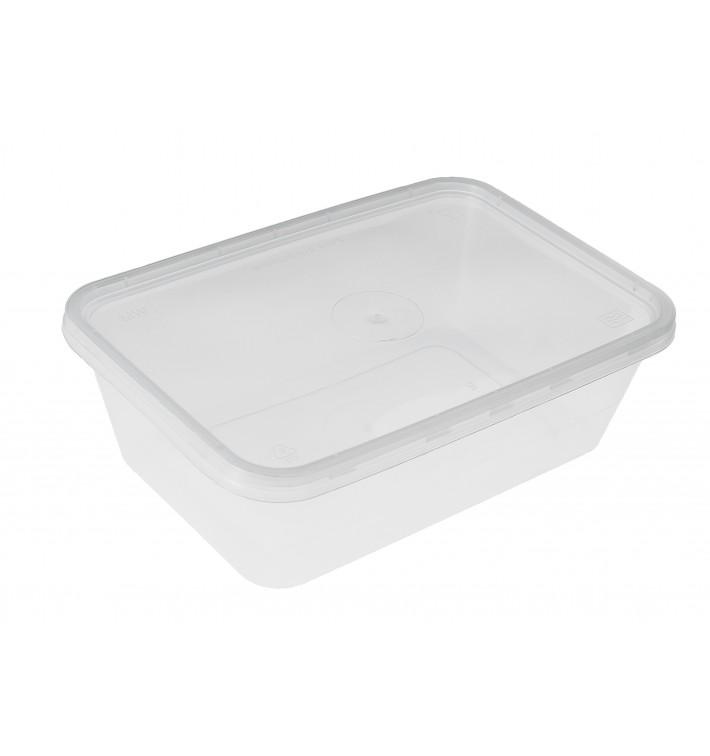 Tarrina Plastico Rectangular PP 750 ml (500 Uds)