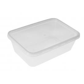 Tarrina de Plastico Transparente 750ml (500Uds)