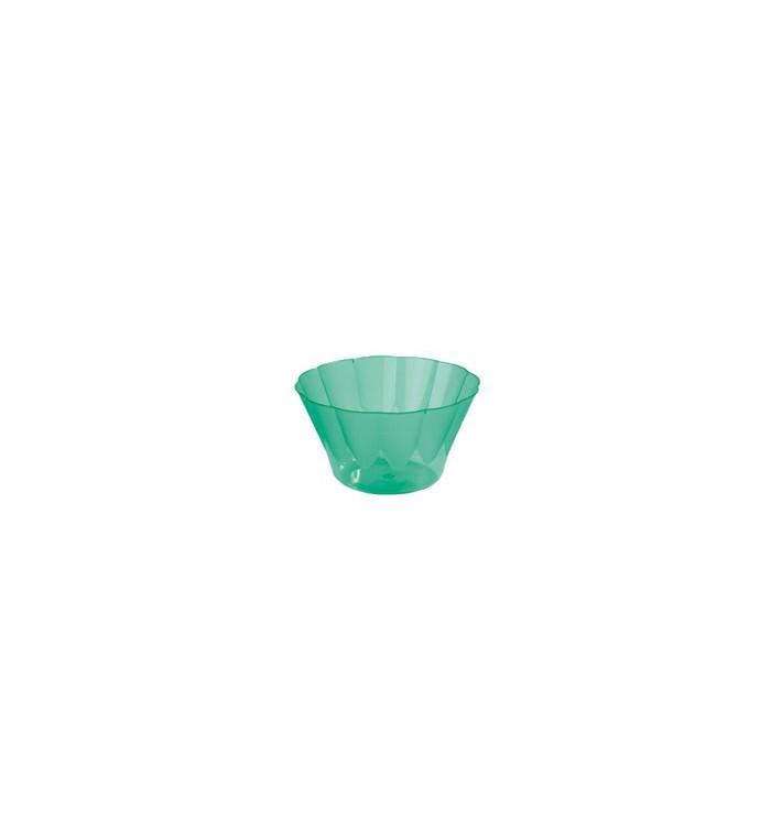 Copa Royal para Coctail Verde de Plastico 300ml (35 Uds)