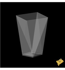 Vaso Degustacion Diamond Transp. 100 ml 66x66x55 mm (25 Uds)