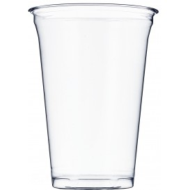 Vaso de Plástico Rígido de PET 610ml Ø9,8cm (50 Uds)