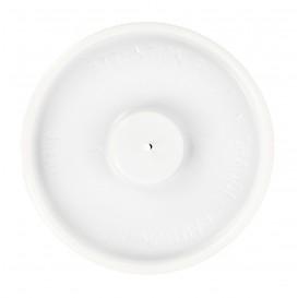 Tapa Plana Vaso de Cartón 4Oz/120ml Blanca Ø6,2cm (100 Uds)