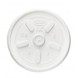 Tapa para Vaso Termico Foam EPS Ø8,1cm  (100 Uds)