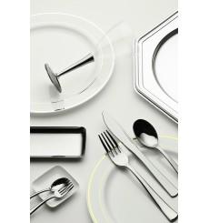 Cuchillo de Plastico Metalizado 20cm (500 unidades)