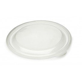 Tapa de Plastico Rigida Transp. Ø23cm (25 Uds)