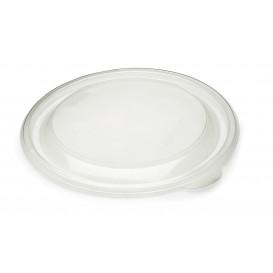 Tapa de Plastico Rigida Transp. Ø13cm (50 Uds)