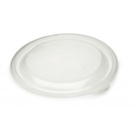 Tapa de Plastico Rigida Transp. Ø13cm (500 Uds)