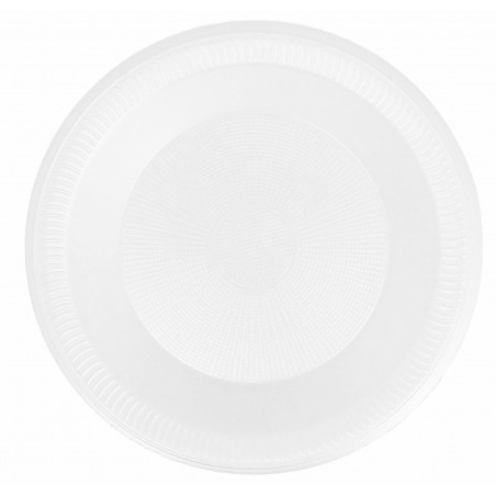 Plato Termico Foam Hondo Blanco 225mm (600 Uds)