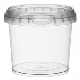 Envase de Plastico con Tapa Inviolable 365 ml Ø9,5 (24 Uds)
