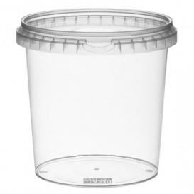 Envase Plastico con Tapa Inviolable 1180 ml Ø13,3 (18 Uds)